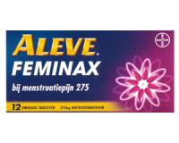 Menstruatieklachten: Aleve Feminax