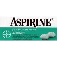 Flu -viral infections: Aspirin