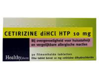 Allergie: Cetirizine