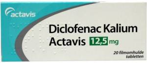 Actavis Diclofenac Kalium
