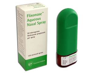 what is fluticasone propionate spray used for