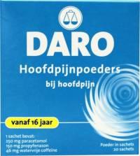 Daro Hoofdpijnpoeders