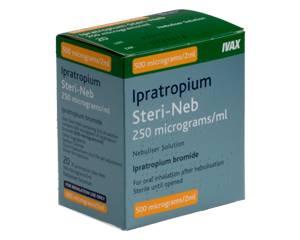 Ipratropium Steri-Neb (Nebu-Trop)