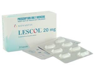 Lescol (fluvastatin)