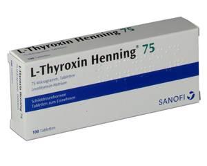 mit l thyroxin blut abnehmen