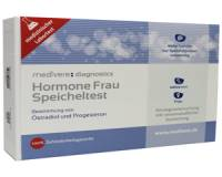 Zelftesten: Medivere Hormonen Vrouw Speekseltest