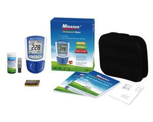 Mission Plus 3-in-1 Cholesterolmeter
