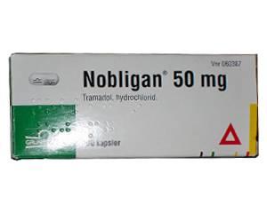 Nobligan, morphinartiges Schmerzmittel auf Basis von Tramadol