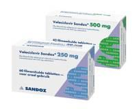 Gordelroos: Valaciclovir