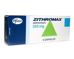 Zithromax (l'azithromycine)